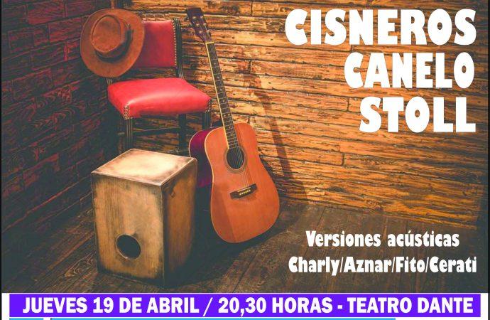 Ciclo de Cine, Teatro y Música: Tres músicos casildenses presentarán versiones acústicas