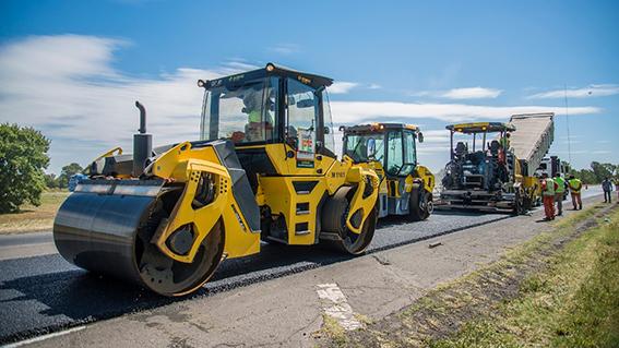 45% de la repavimentación en la autopista Rosario – Santa Fe