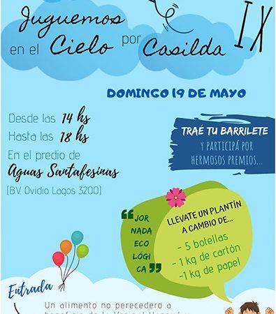 """""""Juguemos en el Cielo por Casilda"""": El 26 de Mayo desde las 14 hs."""