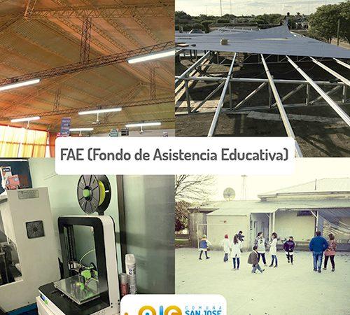 Comuna de San José de la Esquina: «Apoyamos la educación pública», aseguró Ruani
