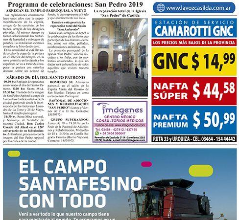 Edición Impresa 28/06/2019