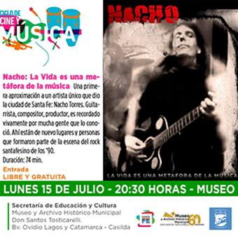 """""""Nacho: La Vida es una metáfora de la música"""" llega al ciclo del Museo"""