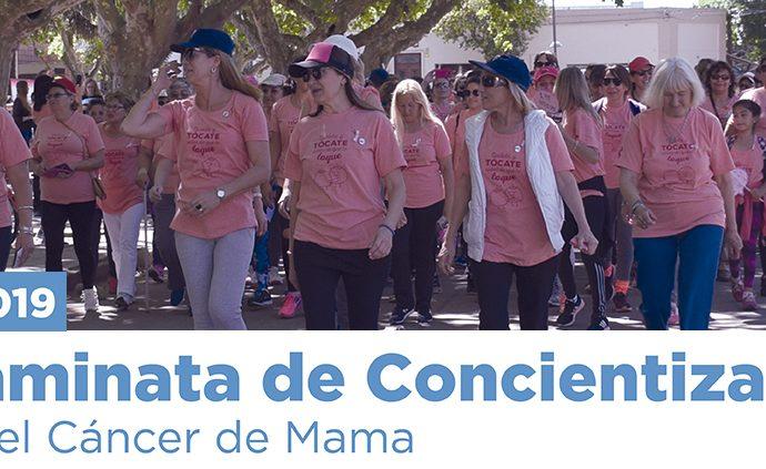 3º Caminata de Concientización contra el Cáncer de Mama.