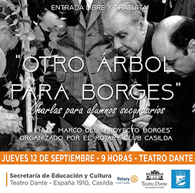 Rotary: Charlas sobre Borges para alumnos
