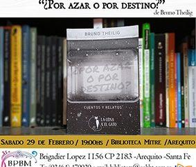 Bruno Theilig presenta su libro