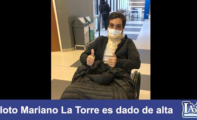 Dieron de alta a Mariano Latorre, el piloto del avión que se accidentó en Esquel.
