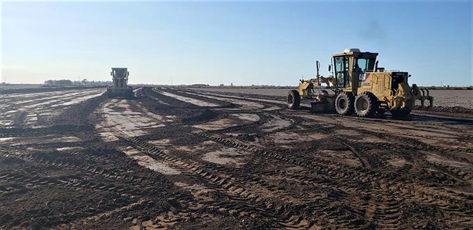 Vialidad Nacional inició las obras de la Autopista RN 33