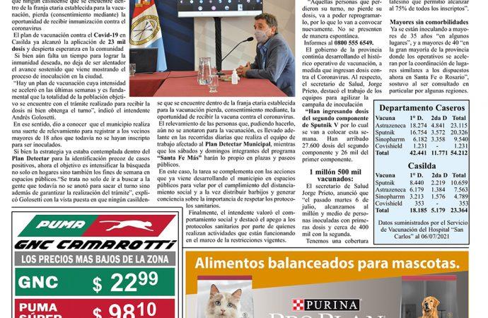 Edición Impresa «La Voz de Casilda» 09/072021